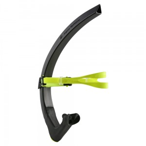 Rurka czołowa MP Focus Swim Snorkel - black/neon