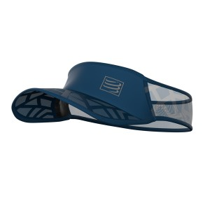 Daszek COMPRESSPORT Spiderweb Ultralight Visor - niebieski