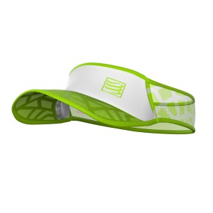 Daszek COMPRESSPORT Spiderweb Ultralight Visor - zielony
