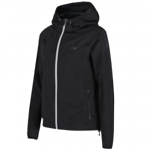 Kurtka ZONE3 softshell Stealth Black damska