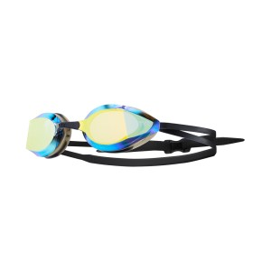 Okulary pływackie TYR Edge-X Racing Mirrored - gold/black