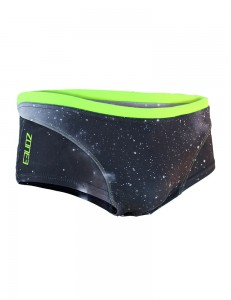Spodenki do pływania ZONE3 Brief Shorts Cosmic