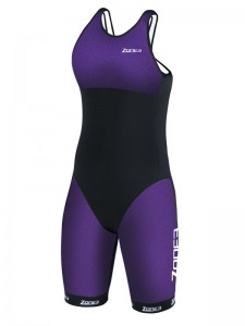 Strój triathlonowy ZONE3 Aeroforce Swimback Style ITU Design damski
