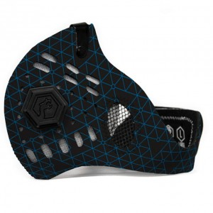Maska Antysmogowa Dragon Sport II Blue Triangle