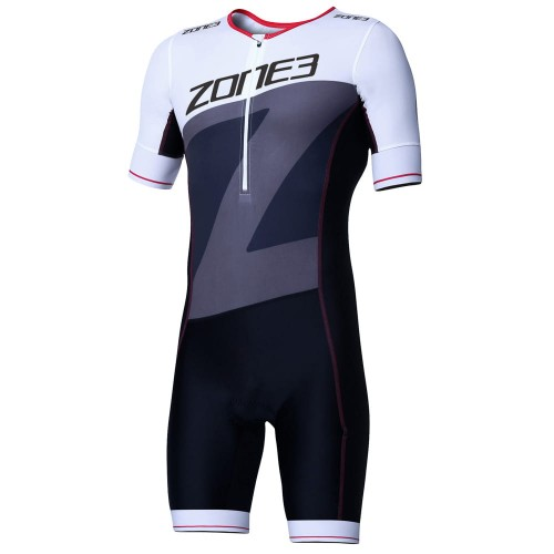 Strój triathlonowy ZONE3 Lava Short Sleeve Aero