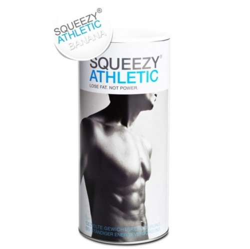 Athletic SQUEEZY 675g banan