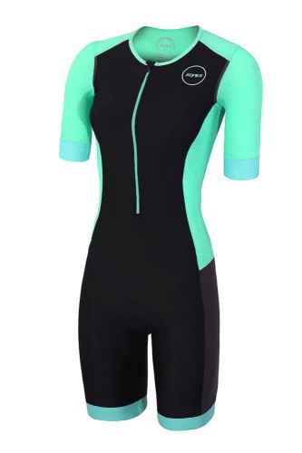 Strój triathlonowy ZONE3 Aquaflo+ Short Sleeve damski